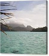 Crystal Island Bora Bora Canvas Print