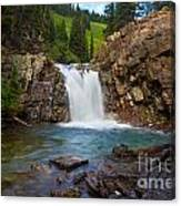 Crystal River Waterfall Canvas Print