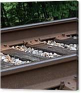 Csx Railroad Track Canvas Print