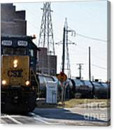 Csx Train Canvas Print
