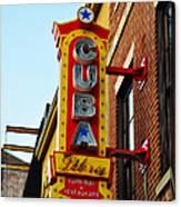 Cuba Libre Canvas Print