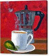 Cuban Coffee And Lime Red R62012 Canvas Print