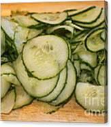 Cucumbers Canvas Print