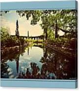 Cummer Pond Zen Canvas Print
