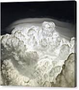 Cumulus Congestus Cloud With Pileus Canvas Print