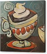 Cup Of Mocha Canvas Print