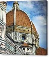 Cupola Di Santa Maria Canvas Print