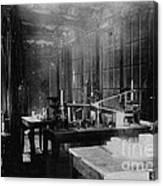 Curie Laboratory Canvas Print