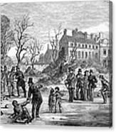 Curling, 1853 Canvas Print