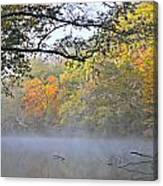 Current River Fall 44r Canvas Print