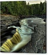 Current River Falls Canvas Print