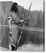 Curtis: Nootka Man, C1910 Canvas Print