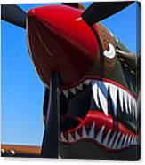 Curtiss P-40n-5 Kittyhawk Canvas Print