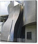 Curves Of The Guggenheim Canvas Print
