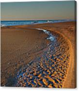 Curving To The Sea I Canvas Print