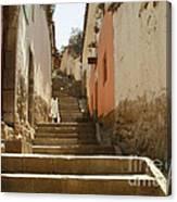 Cusco Peru Street Scenes Canvas Print