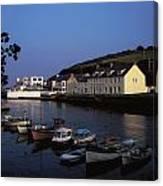 Cushendun Harbour, Co Antrim, Ireland Canvas Print