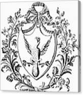 Custis: Coat Of Arms Canvas Print