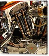 Custom Motorcycle Chopper . 7d13316 Canvas Print