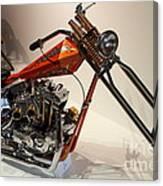 Custom Motorcycle Chopper . 7d13319 Canvas Print