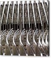 Cutlery Canvas Print