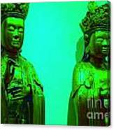 Cy-buddhas Canvas Print