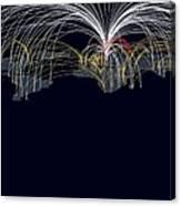 Cyber Warfare, Conceptual Image Canvas Print