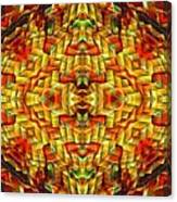 Cyberbraid Mandala Canvas Print