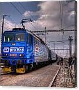 Czech Express Canvas Print