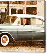 Dad's Old Car Canvas Print