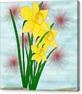 Daffodills Canvas Print