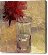 Dahias Of Summer Canvas Print