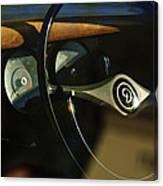 Daimler Steering Wheel Canvas Print