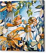 Daisy Carnival Canvas Print