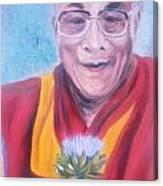 Dalai Lama-peace And Harmony Canvas Print