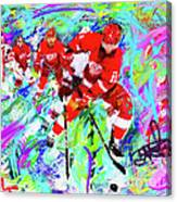 Dan Cleary And 5 Canvas Print