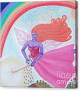 Dance With The Fairy Queen Canvas Print