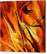 Dancing Fire Vi Canvas Print
