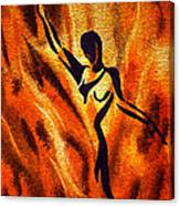 Dancing Fire Vii Canvas Print