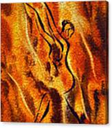 Dancing Fire Viii Canvas Print