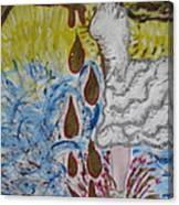 Dancing In Oil Canvas Print