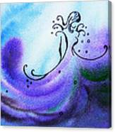 Dancing Water II Canvas Print