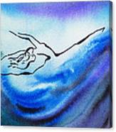 Dancing Water IIi Canvas Print