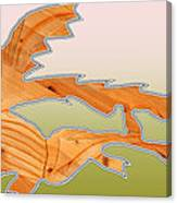 Dangerous Dinosaurs Canvas Print