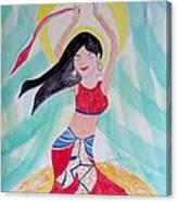 Danse Du Ventre Canvas Print