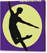 Classical Dancer Canvas Print