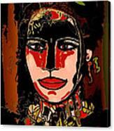 Dark Eyes Canvas Print