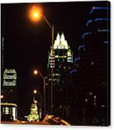 Dark In Austin Canvas Print
