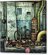 Dark Places Tell Stories Canvas Print