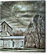 Dark Skies Canvas Print